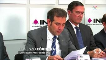 INE, listo, jornada, electoral, elecciones, domingo