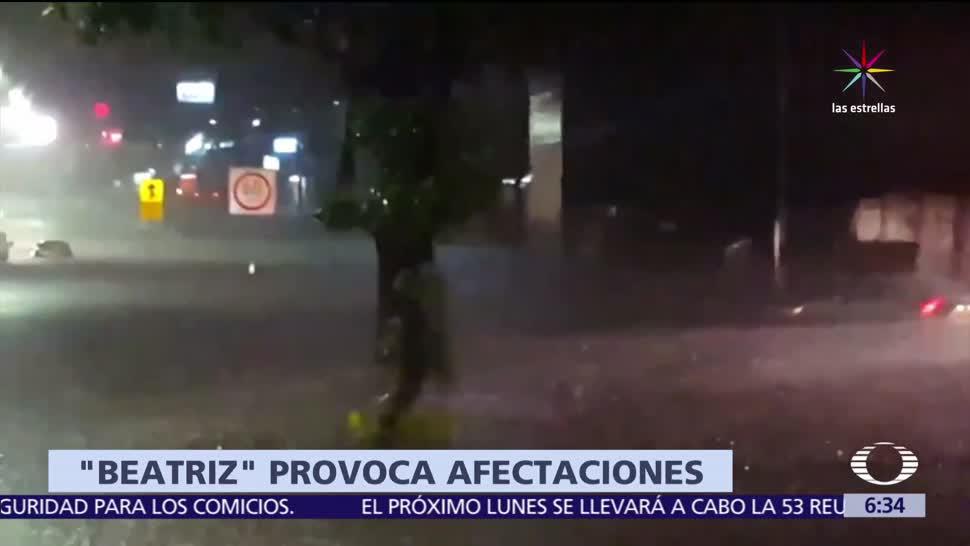 Tormenta Beatriz, causa, inundacione, Tabasco