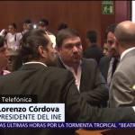 Lorenzo Córdova, las elecciones, 4 de junio, Instituto Nacional Electoral