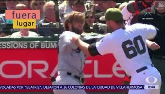 Fuera De Lugar, Pelotazo, golpes, partido de béisbol