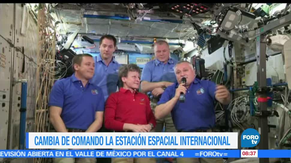 NotasCuriosasdeME, Cambia, comando, Estación Espacial Internacional