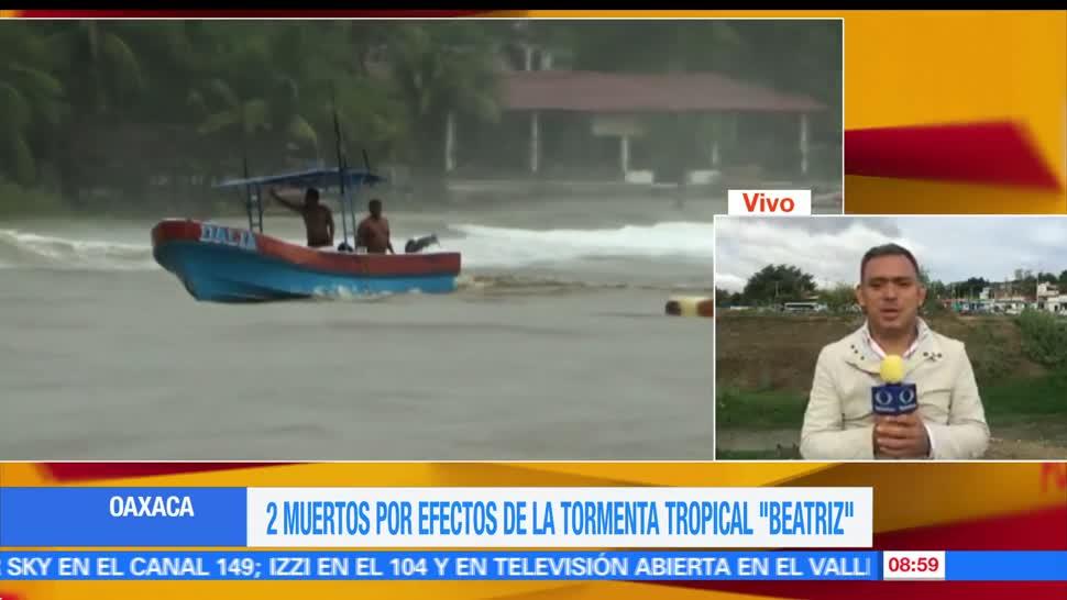 depresión tropical Beatriz, Lluvias, provocan, derrumbes Oaxaca