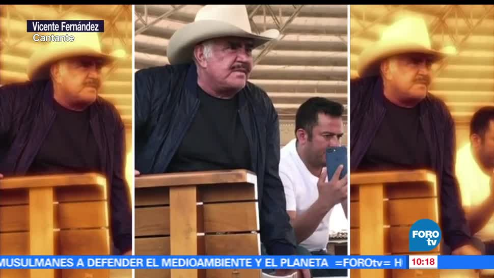 LoEspectaculardeME, Vicente Fernández, detalles, salud