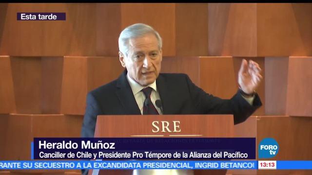 Canciller de Chile, fronteras y proteccionismo, Heraldo Muñoz, México