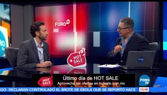 Último día, compras, Hot Sale, internet