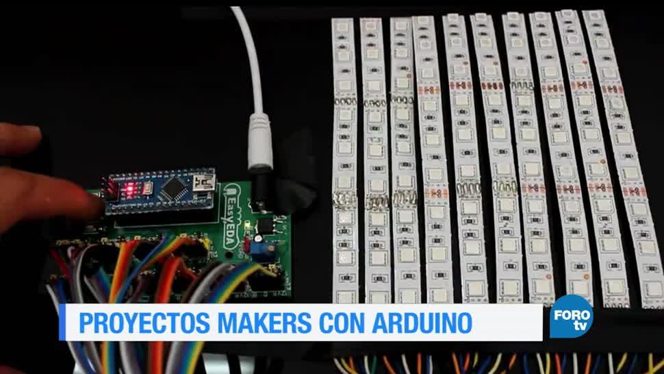 Proyectos, hechos, placa, Arduino, fractal, ciencia y tecnología
