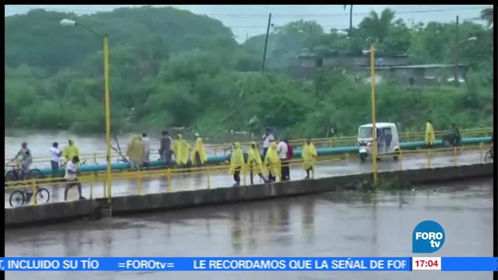alerta, Oaxaca, esperan, 24 hrs, lluvias, inundaciones