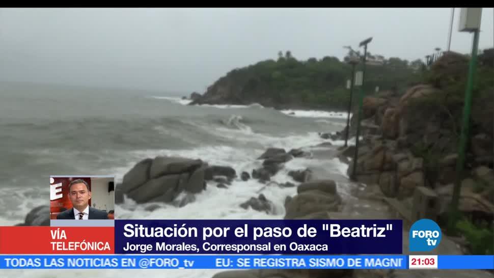 noticias, forotv, Oaxaca, alerta, tras el paso, Beatriz