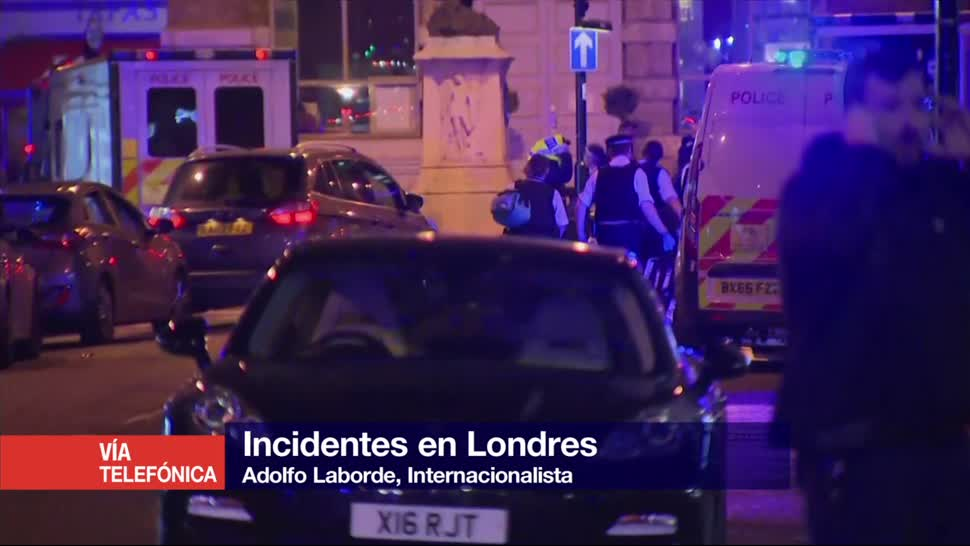 Incidentes, Londres, repercuten, Theresa May, internacionalista, Adolfo Laborde