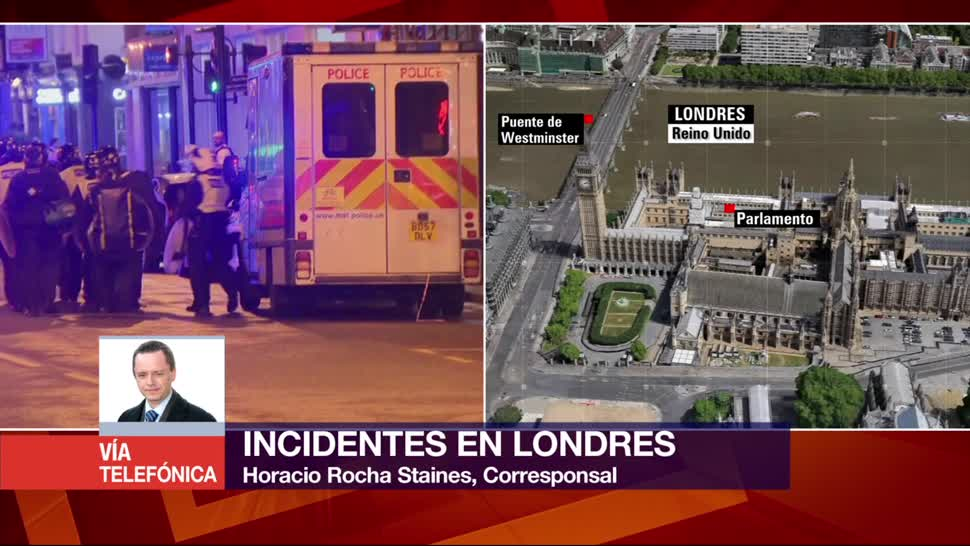 Policía, Londres, atiende, tres incidentes, atentados, ataques
