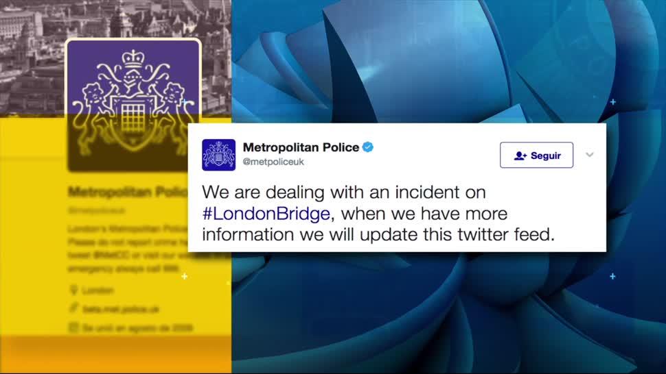 Policía Metropolitana, Londres, confirma, tres incidentes, recomendacions, twitter