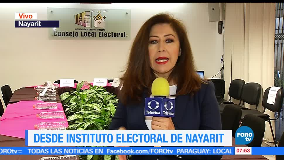Instituto Electoral, Nayarit, jornada electoral, gobernador