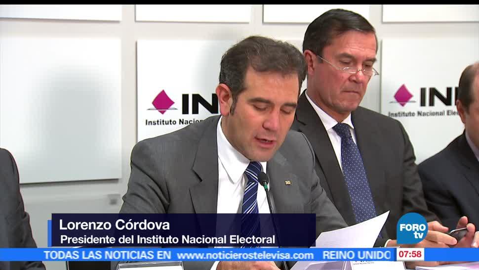 Lorenzo Córdova, consejero presidente, Instituto Nacional Electoral, ciudadanía, junio, Votar