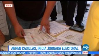 No reportan, incidentes, instalación de casillas, Coahuila, elecciones, jornada electoral