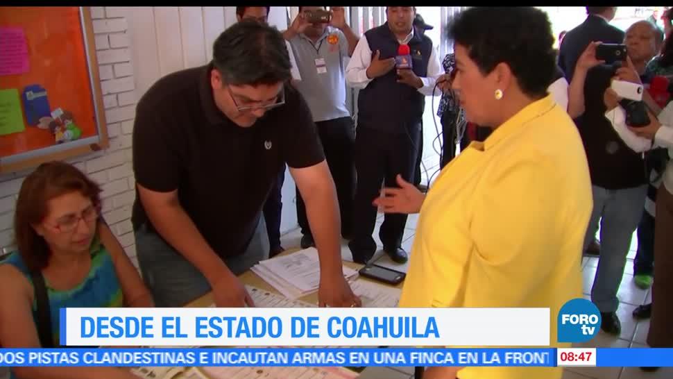 Inicia, jornada, electoral, Coahuila, elecciones, votaciones