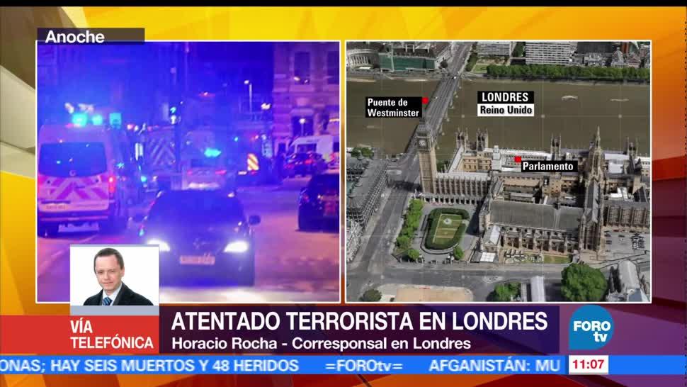 noticias, forotv, Nuevo ataques, sacuden, Londres, capital británica