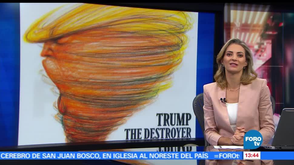 noticias, forotv, Diversas revistas, publican portadas, anti Trump, salida del Acuerdo de París
