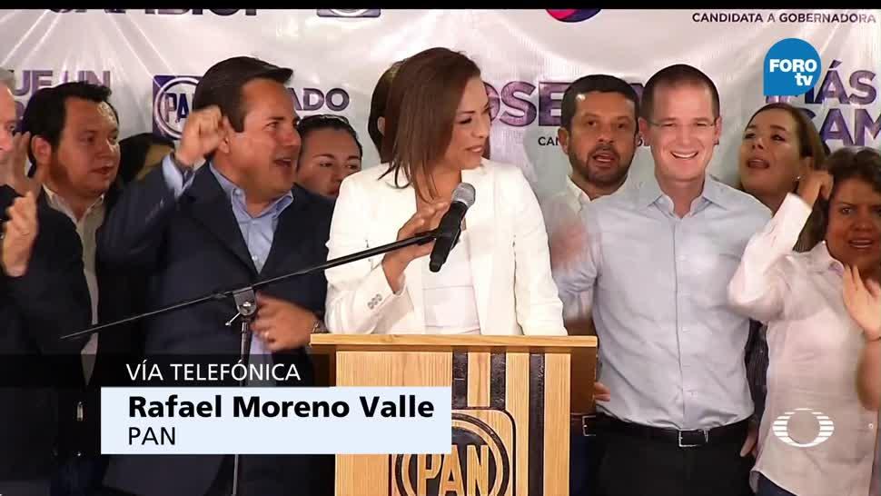 Moreno Valle, lamenta, derrota, PAN, Edomex, elecciones