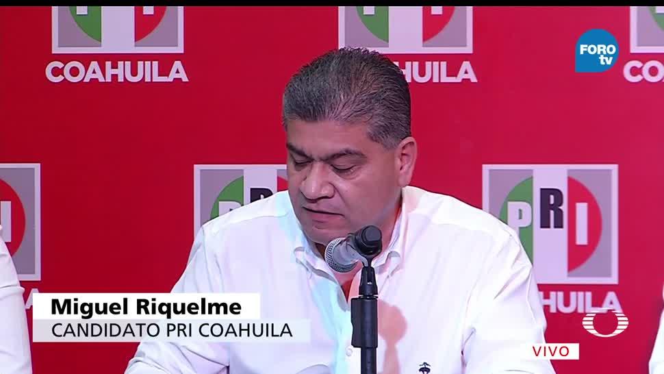 Miguel Riquelme, asegura, será, gobernador Coahuila, elecciones, PRI