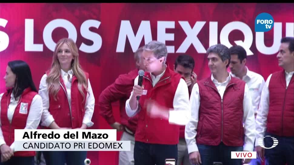 Alfredo del Mazo, Alfredo del Mazo, El candidato del PRI, Estado de México