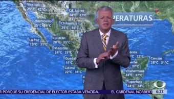 Despierta con Tiempo, Beatriz, Golfo de México, onda tropical, costas de Michoacán