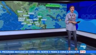 noticias, televisa, Canal, baja presión, provocará, lluvias