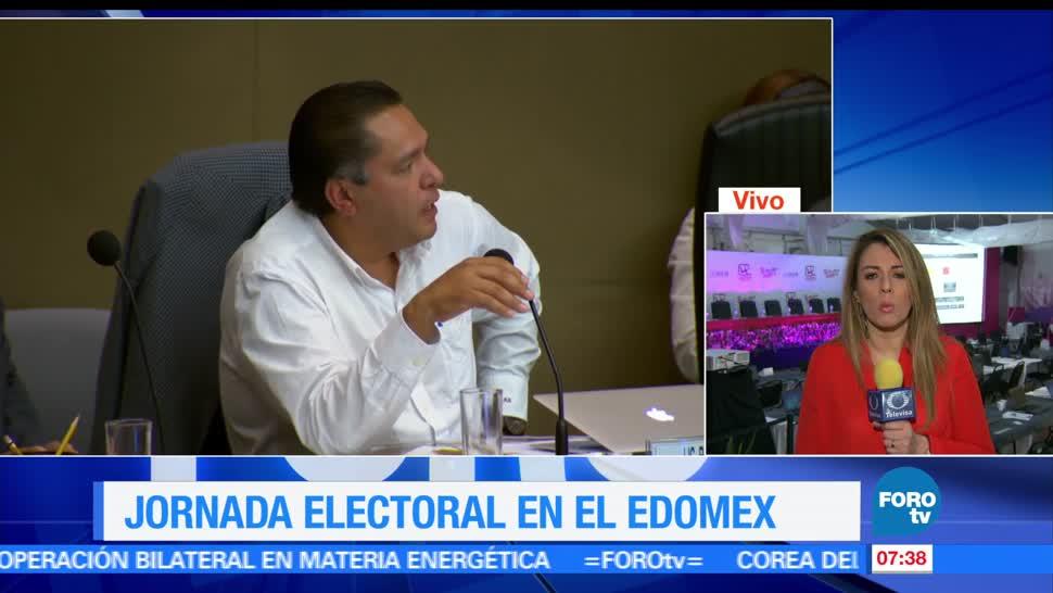 noticias, forotv, Jornada electoral, Estado de México, actas contabilizadas, prep