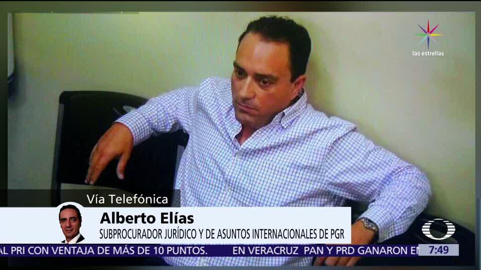 Alfredo Elías, subprocurador de PGR, detención de Borge, exgobernador