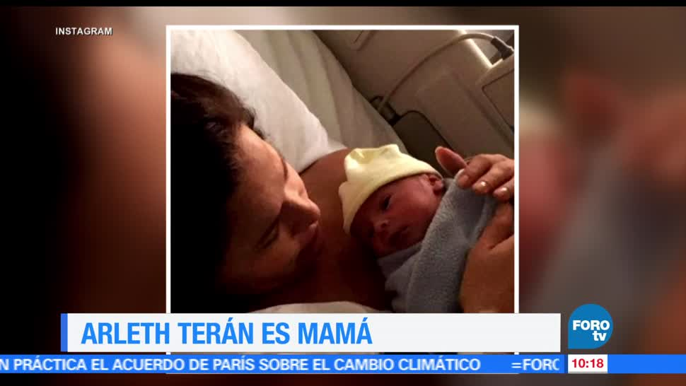 cuenta personal, actriz, Arleth Terán, primer bebé, León Alexander