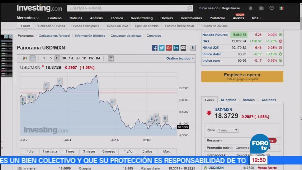 peso, dólar, moneda mexicana, 18.37