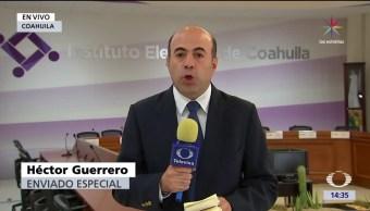 elección, Coahuila, cerrada entre el PRI, Guillermo Anaya