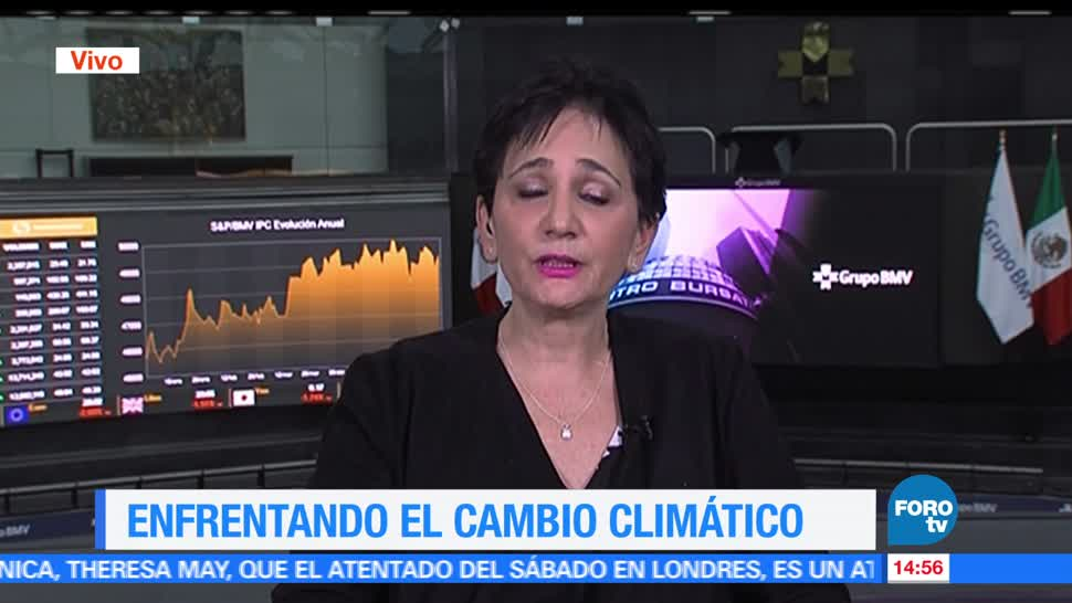 Beatriz Bugeda, directora en México y Latinoamérica de Climate Reality Project, México, cambio climático