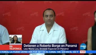 Roberto Borge, ex gobernador de Quintana Roo, Tribunales, Panamá