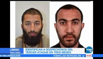 Policía, británica, Identifican, atacantes Londres