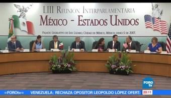 noticias, forotv, Reunión, Interparlamentaria, México, Estados Unidos