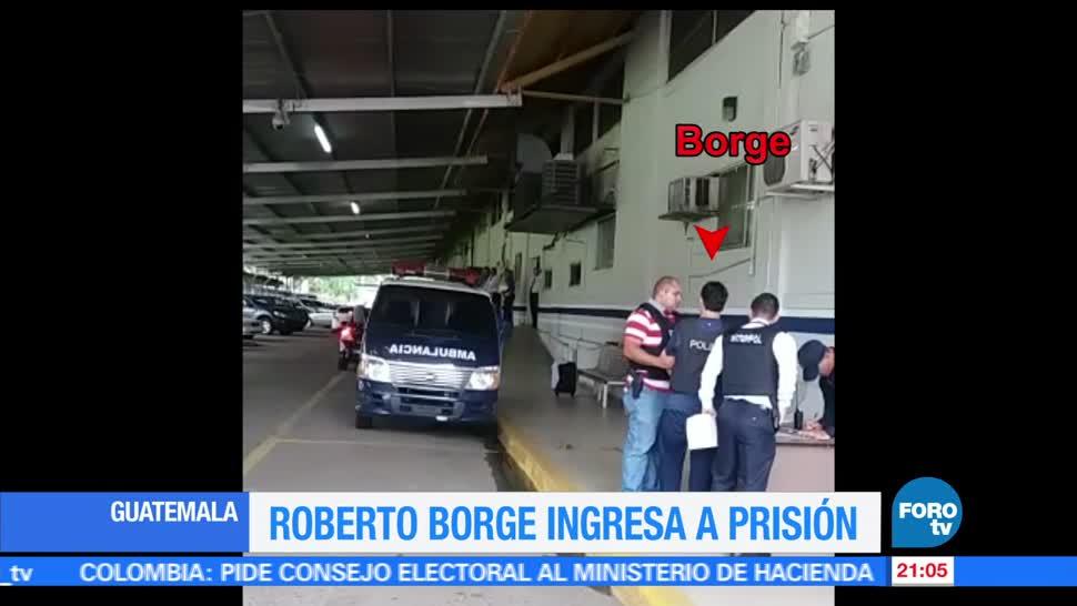 noticias, forotv, Ingresa, prisión, Roberto Borge, Panamá