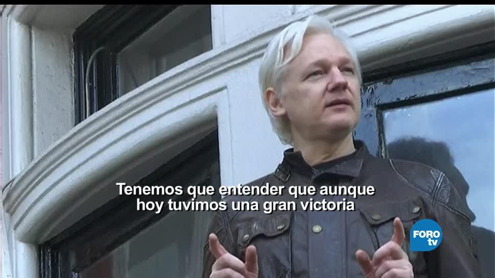 noticias, forotv, WikiLeaks, Assange, libre, fundador de WikiLeaks