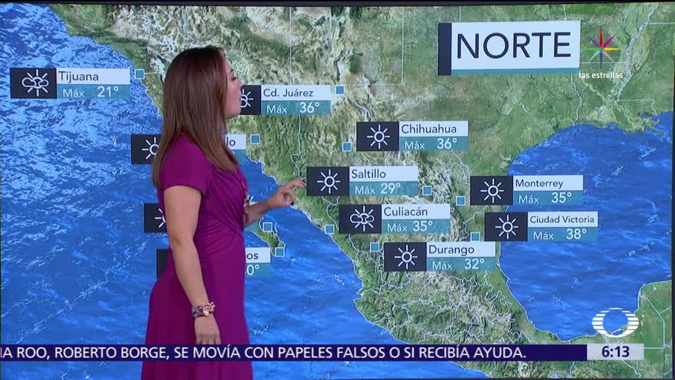 rachas fuertes, viento, ambiente caluroso, Chihuahua, Coahuila