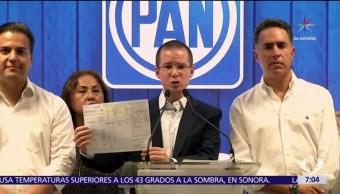 Ricardo Anaya, líder nacional, PAN, PREP, Coahuila