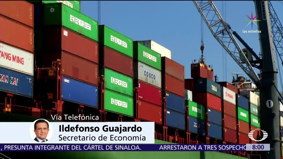 Ildefonso Guajardo, secretario de Economía, comercio de azúcar, México y Estados Unidos