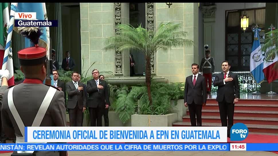 Enrique Peña Nieto, visita de Estado, Guatemala, migración, relación bilateral
