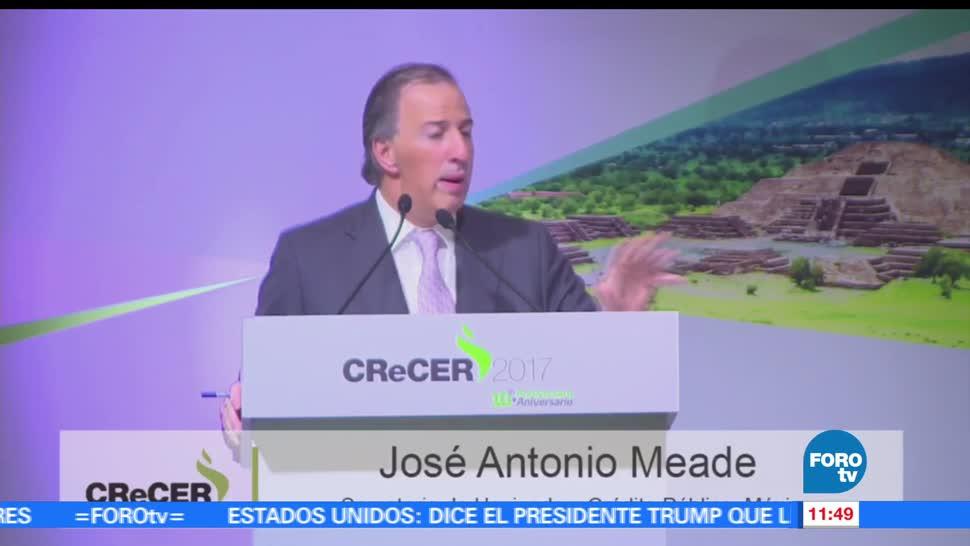José Antonio Meade, secretario de Hacienda, avances de México, transparencia presupuestal
