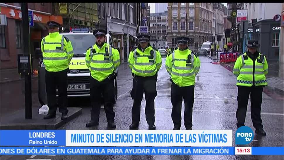 Minuto de silencio, memoria, víctimas, Londres