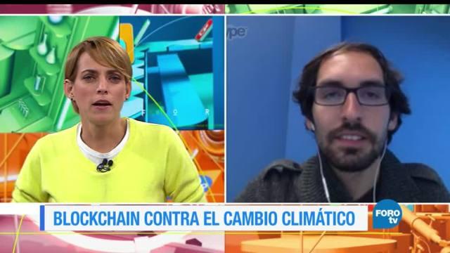colaboración, Jorge Soto, blockchain, cambio climático
