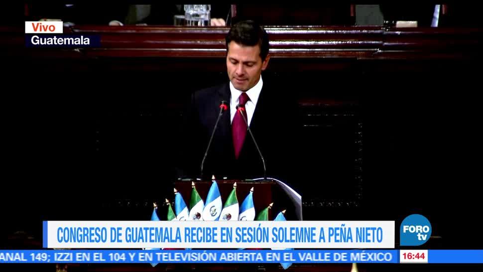 Congreso, Guatemala, presidente, Enrique Peña