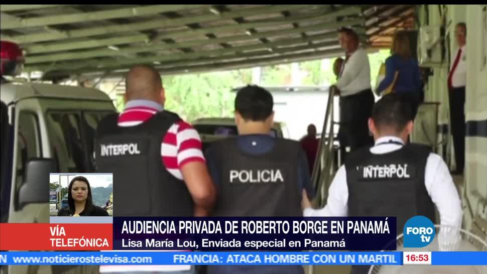 Borge, comparece, primera audiencia, Panamá