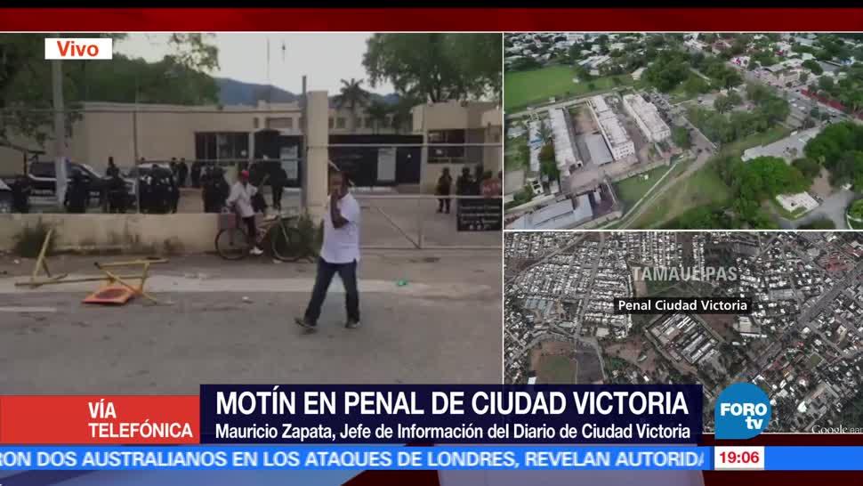 noticias, forotv, Cómo, penal, Cd. Victoria, balacera