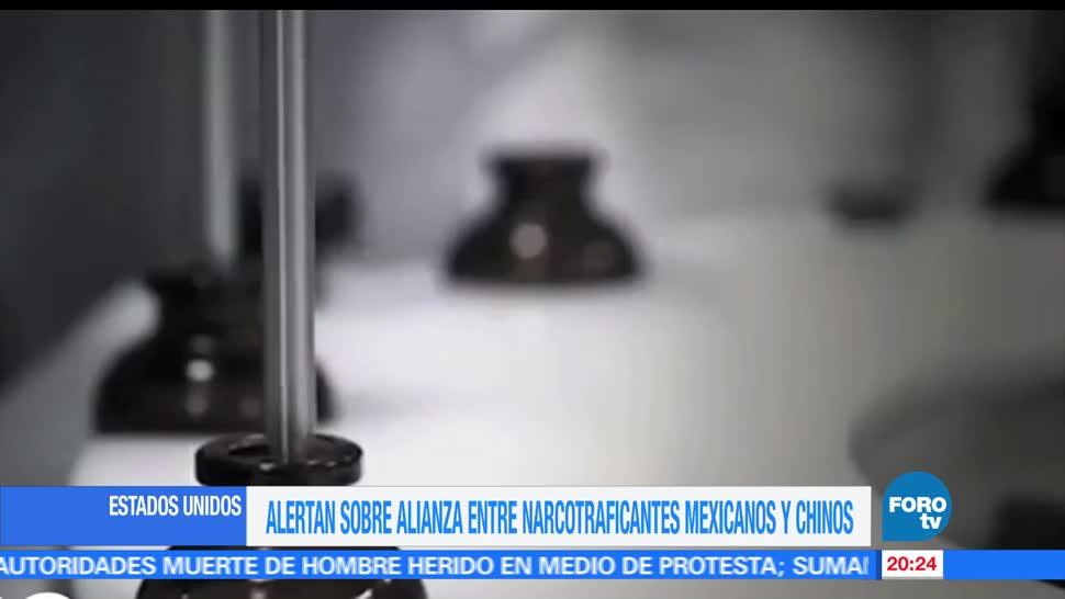 noticias, forotv, DEA, alerta, alianza entre narcotraficantes, mexicanos y chinos