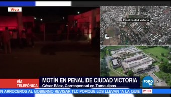 noticias, forotv, Continua situación de riesgo en penal de Ciudad Victoria