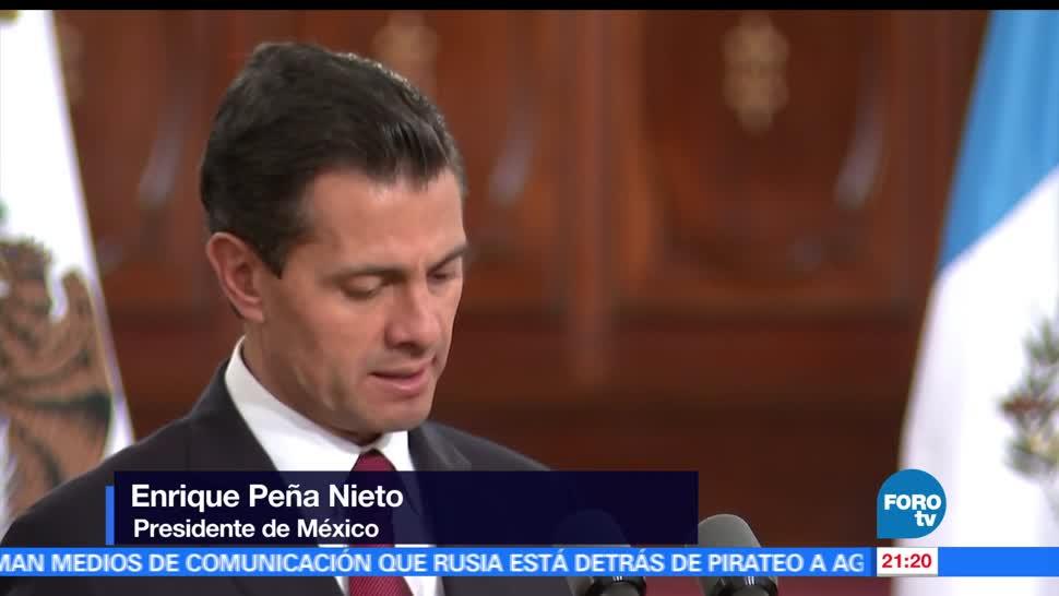 noticias, forotv, EPN, desterrar discursos, odio, migrantes